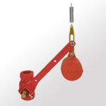 Free Fall Fire Valve met achtergrond 30